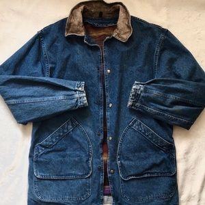 Woolrich Denim/Wool Engineer Coat